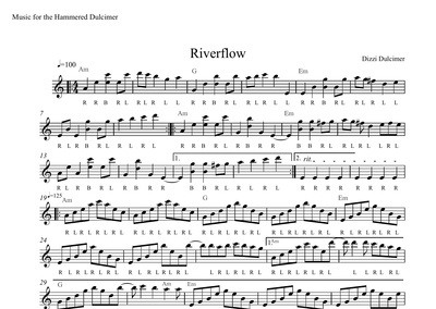 Riverflow Sheet Music
