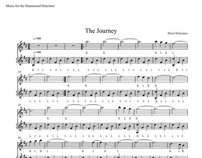 The Journey Sheet Music - DUET