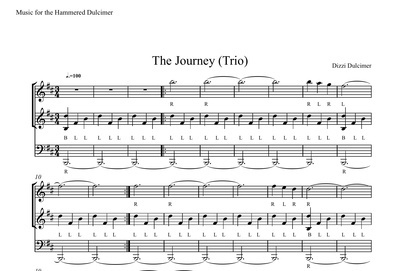 The Journey Sheet Music - TRIO