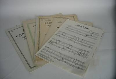 Any 5 pieces of Sheet Music