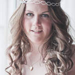 natant City Brides Long Wavy Wedding Hair & Makeup