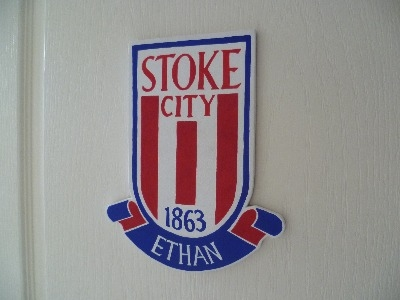 Stoke City door plaque