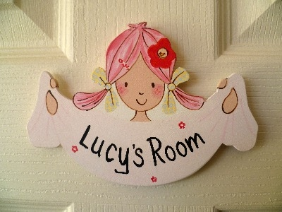 Emily Button door plaque