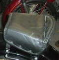 spring rear saddle