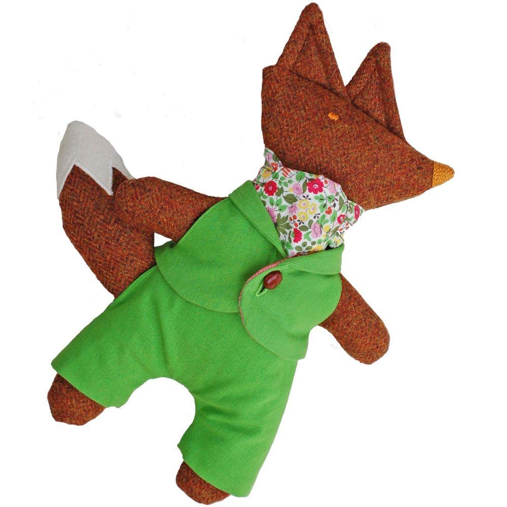 Mr Fox in Dandy Green Suit