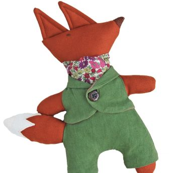 Mr Fox in Liberty Poppy and Daisy