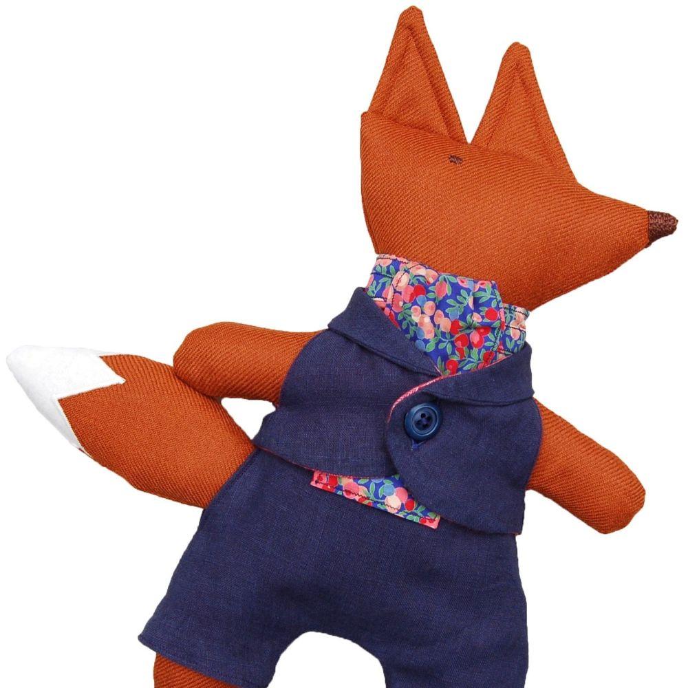 Mr Fox in Dandy Blue Suit