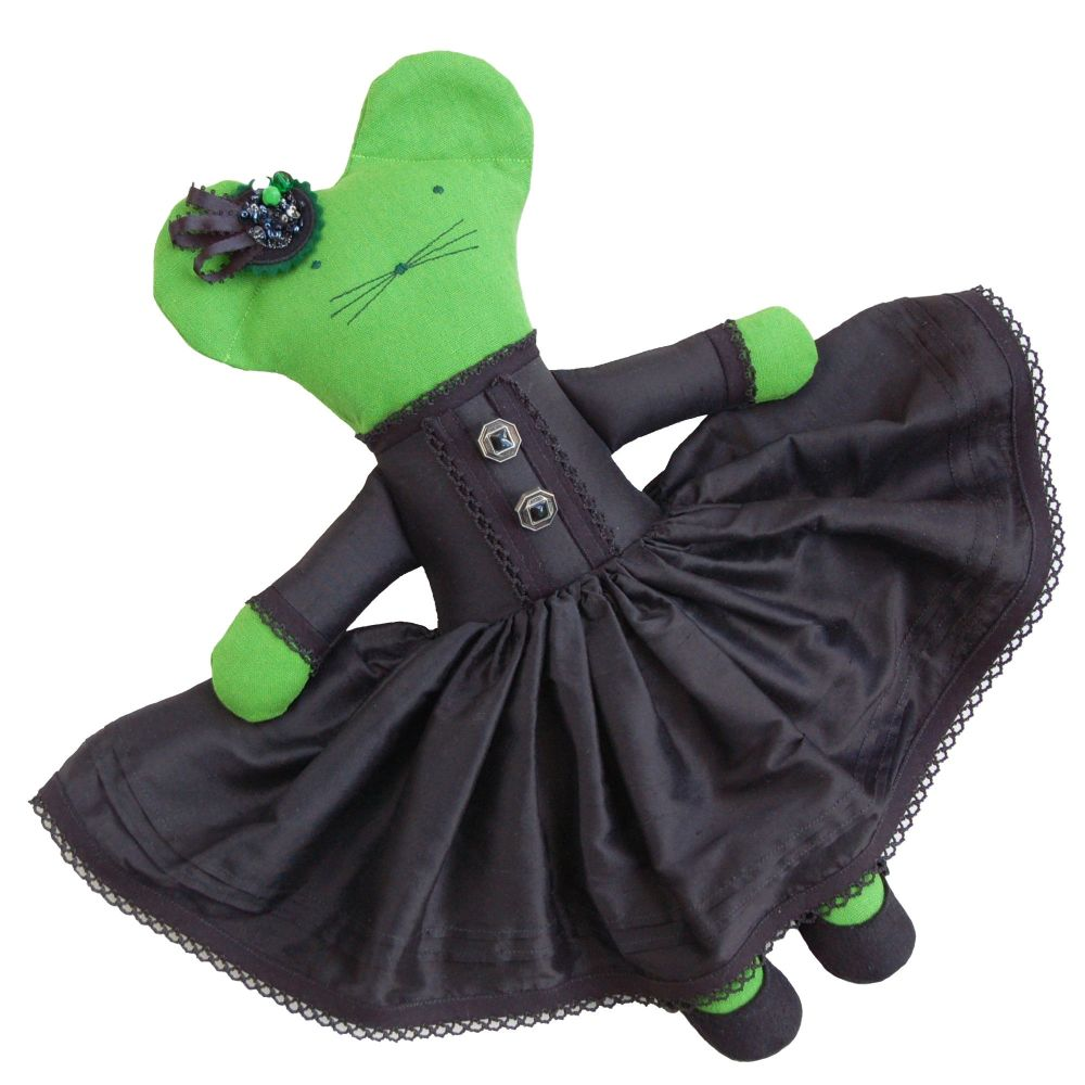 Witch Linen Mouse