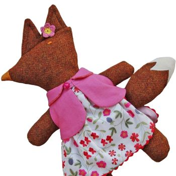 Mrs Fox in Pink Liberty Mirabelle