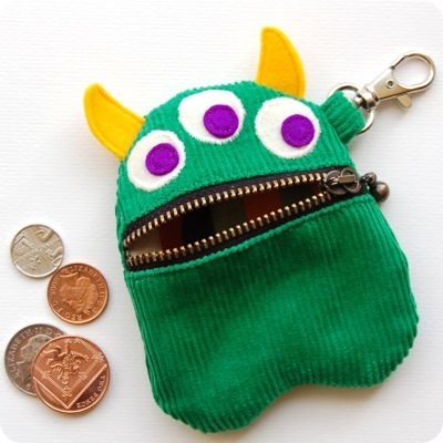 Green Monster Purse