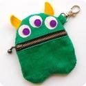 Green Monster Purse