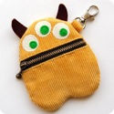Yellow Monster Purse