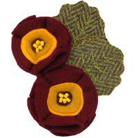 <!-- 001 -->Flower Brooches
