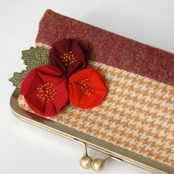 Flower Purse Red Rose Top