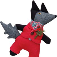 Mr Wolf in Dandy Red Suit