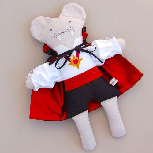 Dracula Linen Mouse