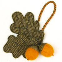 Front Page Acorn Brooch