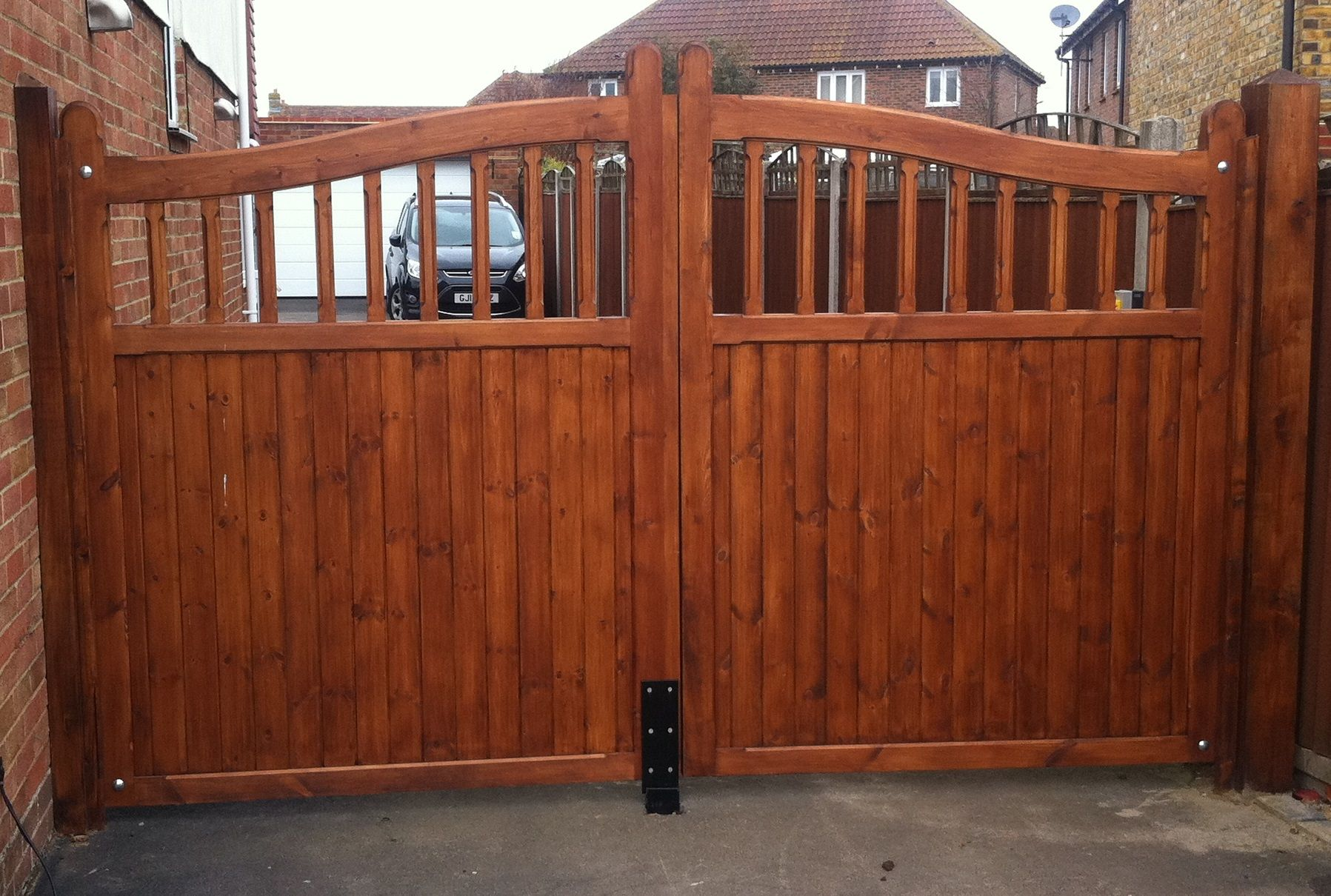 Haymac bow top spindle softwood JQ gate