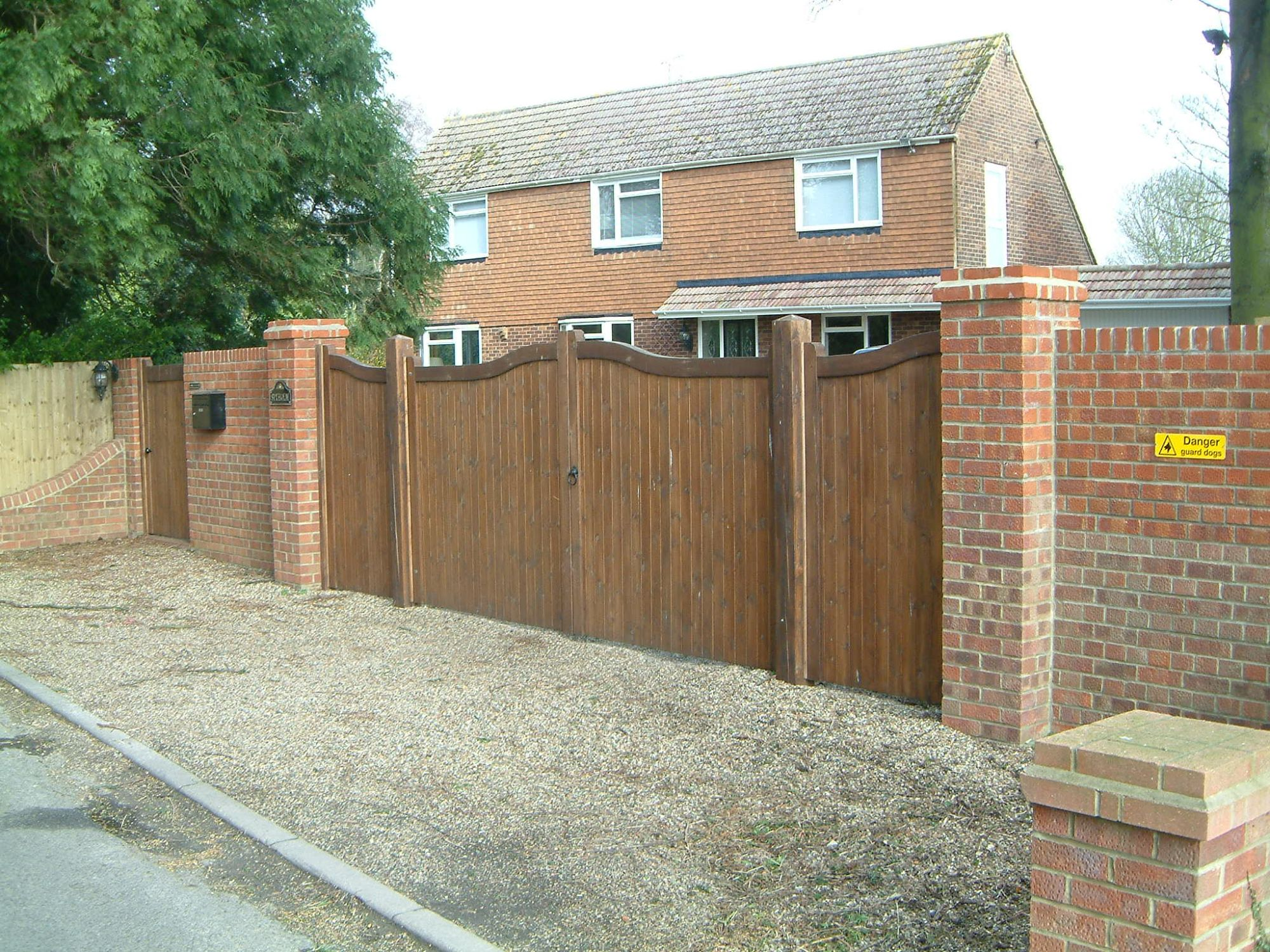 Haymac bow top JQ gates & side panels