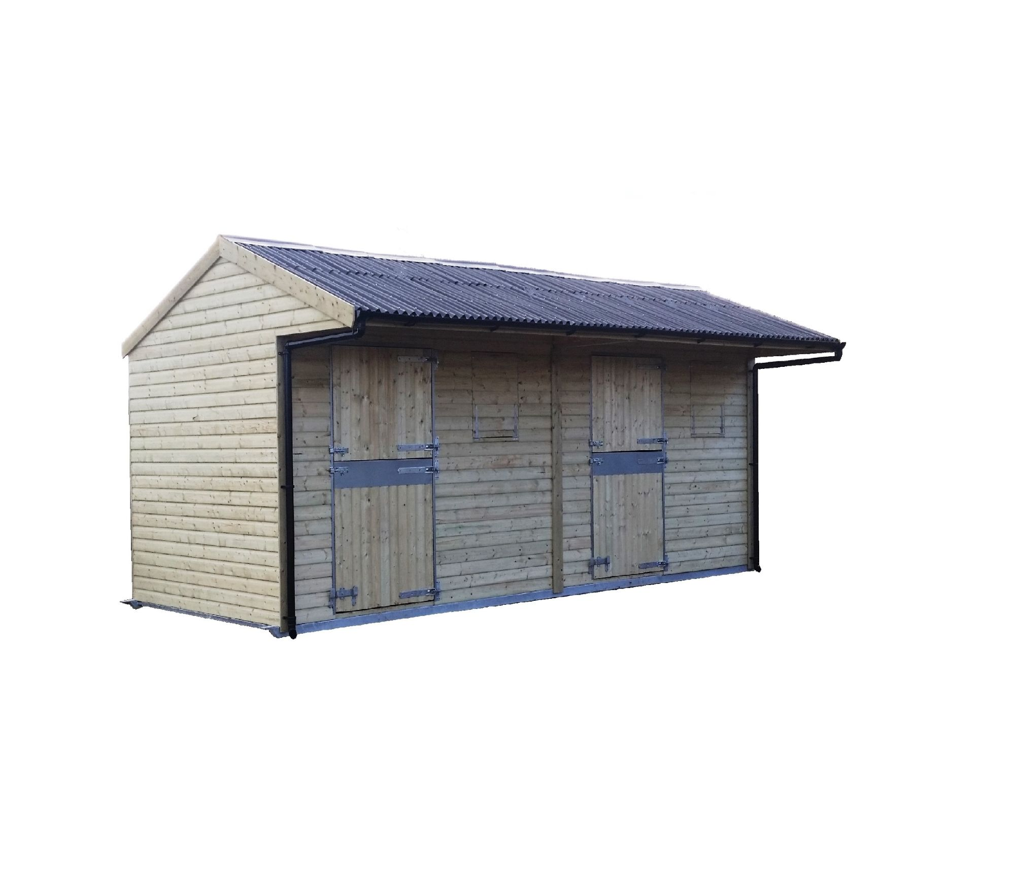 econo max double mobile shelter
