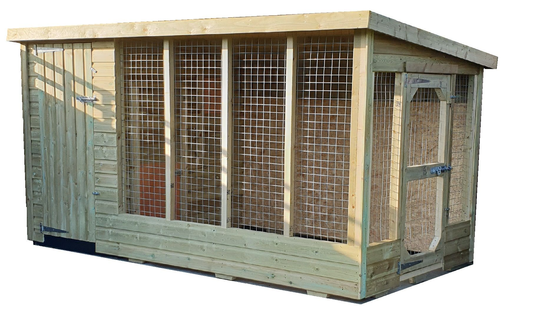 Standard Police Spec 10x5- full height kennel