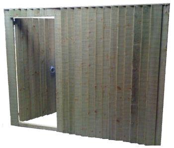 Closeboard Wicket Gate Panel