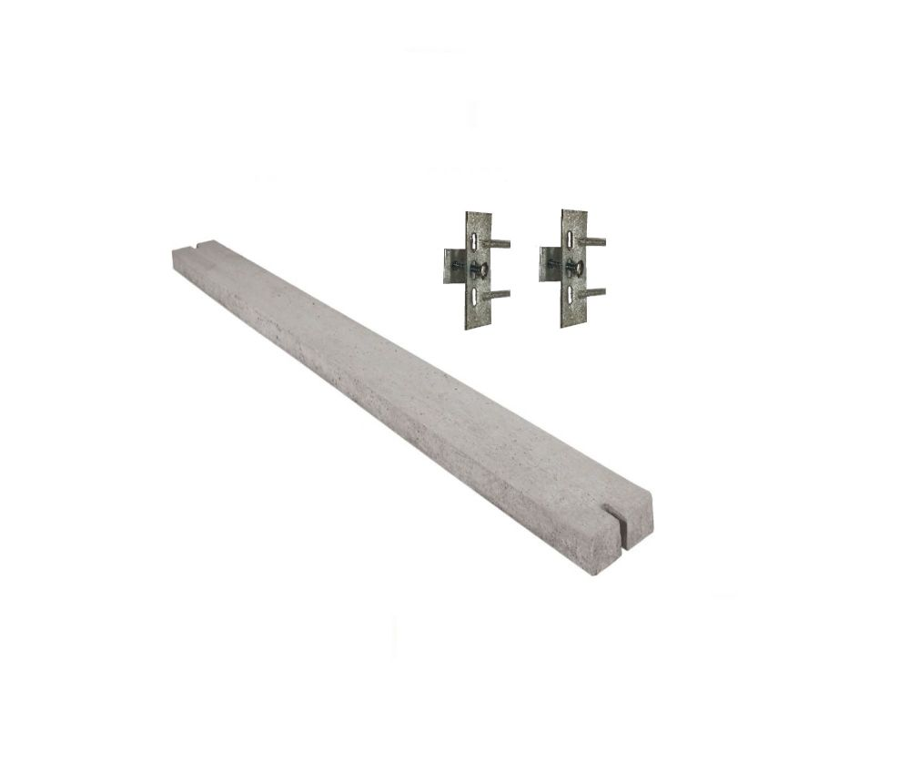 Concrete 2885mm x 150mm gravel board £26.00