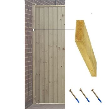 6ft Timber wall plate