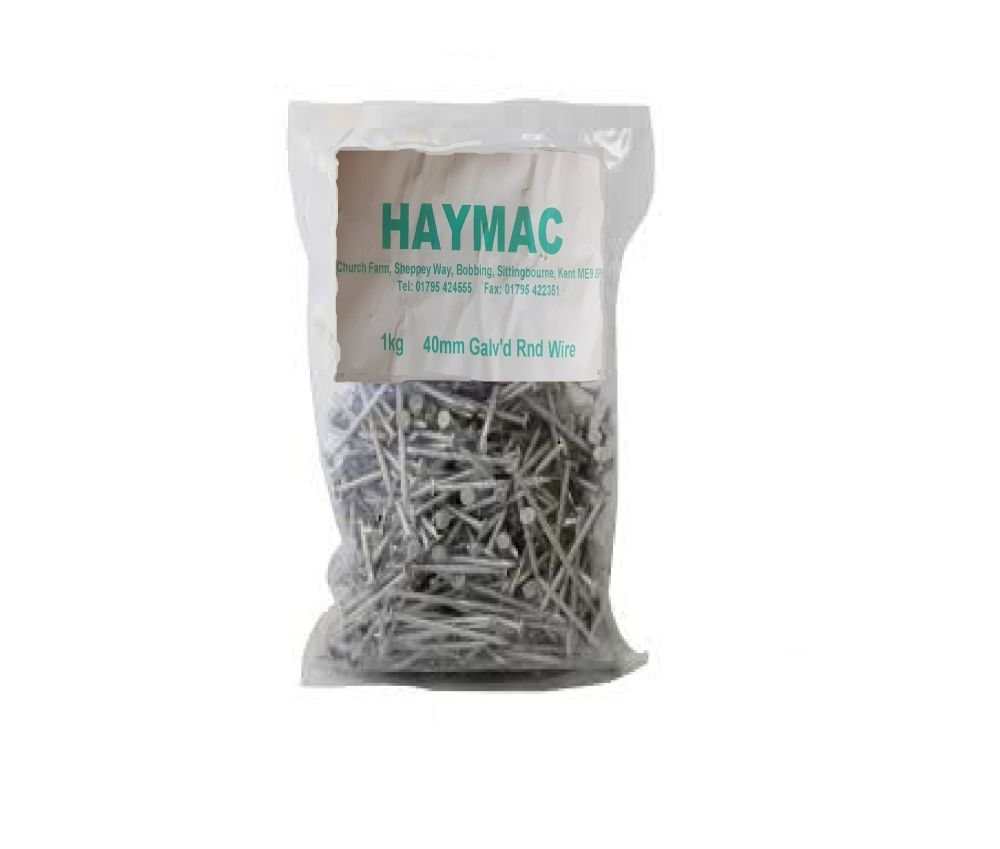 Galvanised Round Wire Nails from £4.44