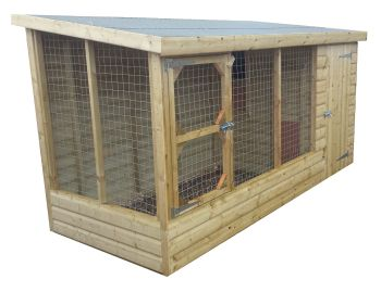 Standard 10ft x 4ft Dog Kennel- from £450.00 inc. VAT