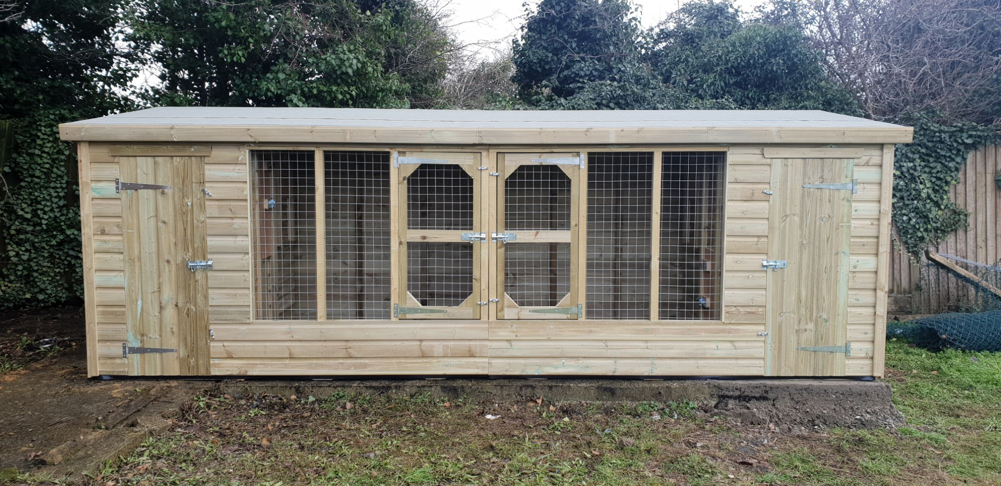 Animal Buildings dog kennel chicken house arc pen sections ...