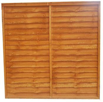 Waney Panels