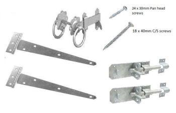 Gate Hanging Hardware Pack