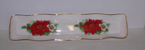 BC0139/A Mint tray - poinsettia