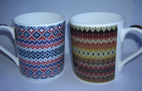 FC003 Balmoral beaker Fairisle patterns /B