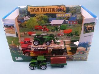51020 Farm Tractor & Trailer