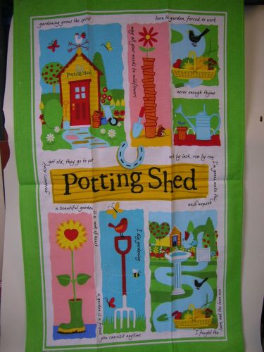 Teatowels - Potting shed