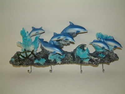 dolphins coathooks