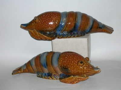 ceramic lobster
