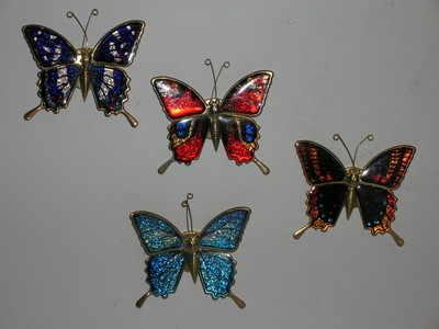 EL498 magnet - Butterflies