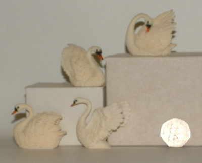 Mini swans