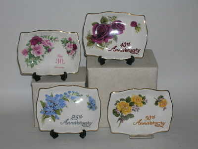 BC0316 Rectangle sweet dish   Assorted anniversaries