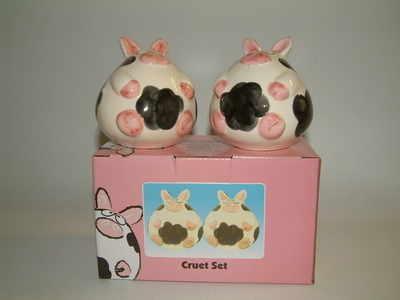 EL733 Porkers cruet set