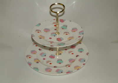 FC063 2 tier cake stand