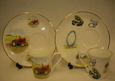 FC010 TV Beaker & Plate set