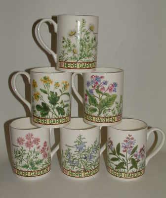 Balmoral beaker-Herb garden