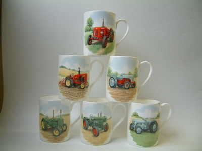 FC001/A Lyric beaker - Tractors  - 6 different