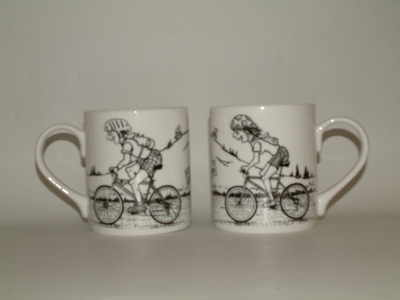 Balmoral beaker - cyclists
