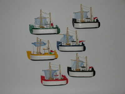 21526 Trawlers magnet £1.10 - £1.35 Named