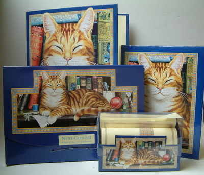 WTM500 Marmalade cat stationary sets